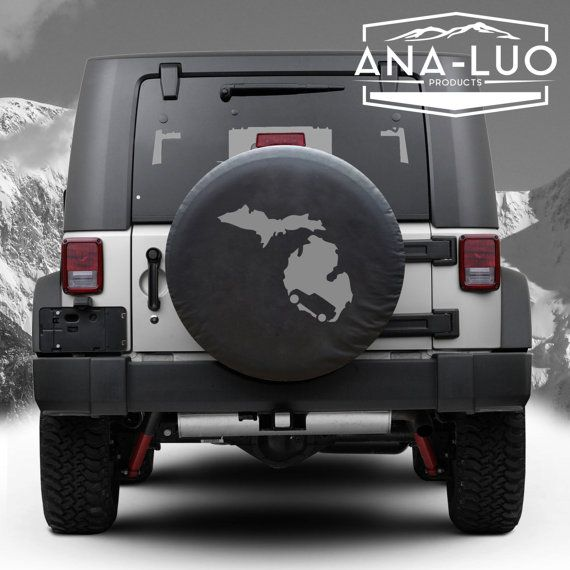 Check out this item in my Etsy shop https://www.etsy.com/listing/252982984/michigan-tire-cover-jeep-wrangler