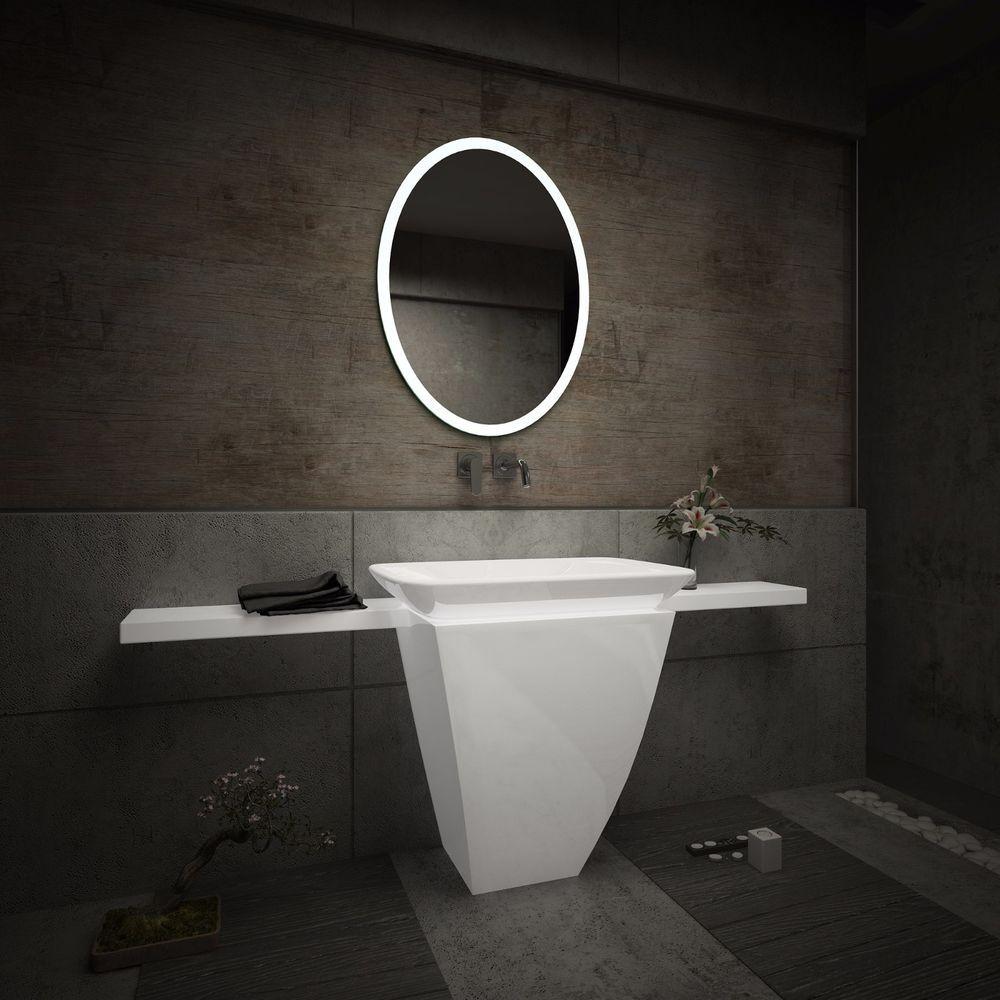 Details Zu Badspiegel Mit Led Beleuchtung Badezimmerspiegel