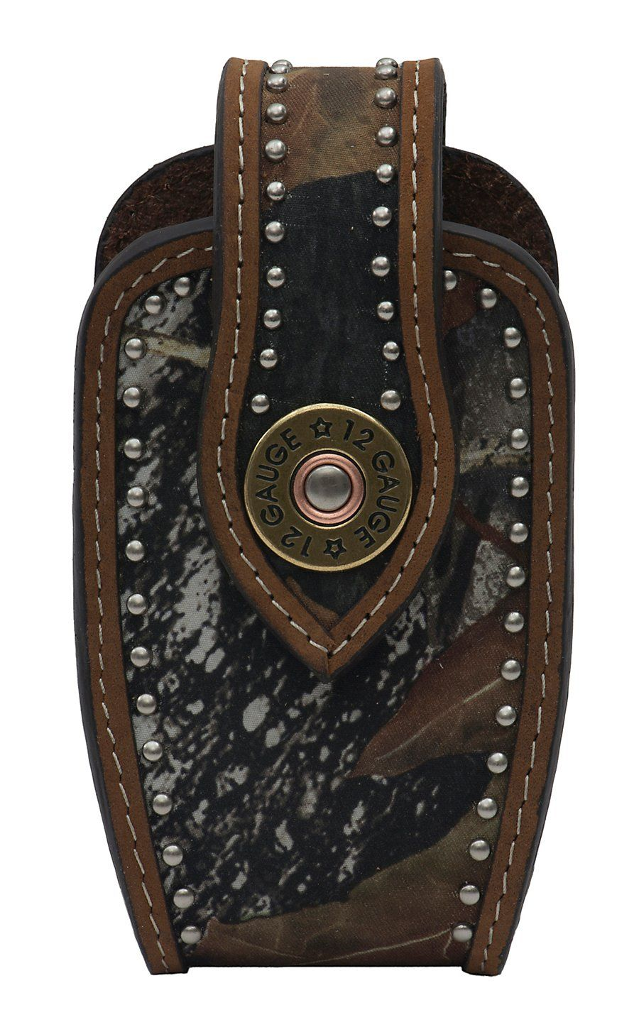 Nocona Mossy Oak Camo With Shotgun Shell Concho And Studs