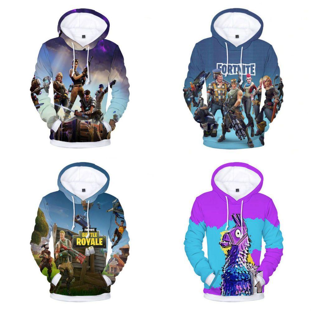 57a12ed9c2f6 Fortnite 3D Hoodie Llama 3D Hoodie Sweatshirt Casual Sweatshirt Cosplay  Costume  hoodie
