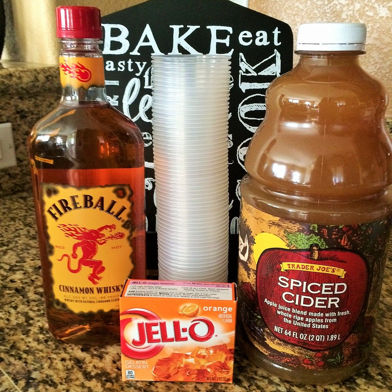 Fireball Jello Shots