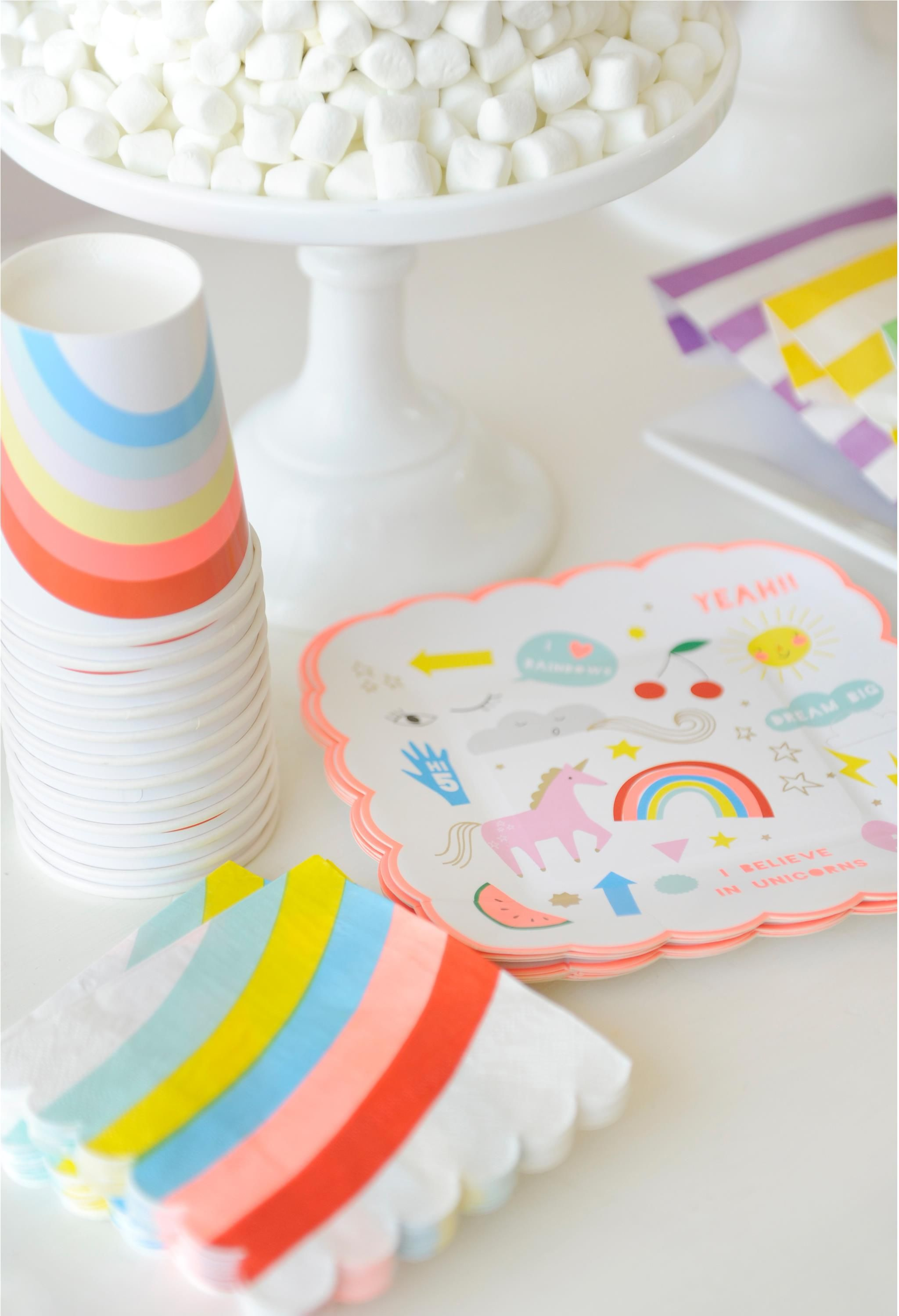 Project Nursery - Over the Rainbow Party for Kids Magical Kids Birthday Party