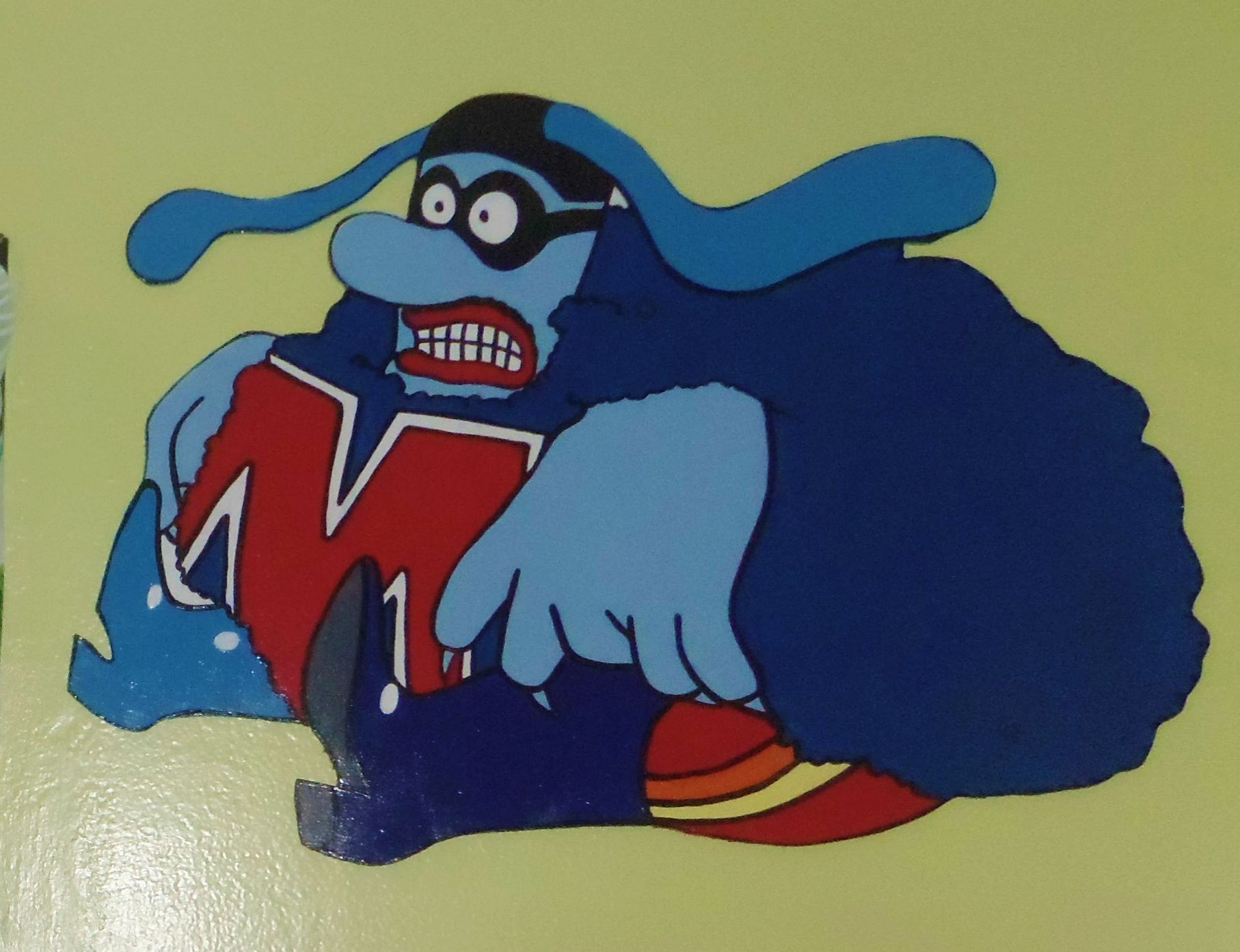 Max (Blue Meanie from the Yellow Submarine) Wall Plaque ...