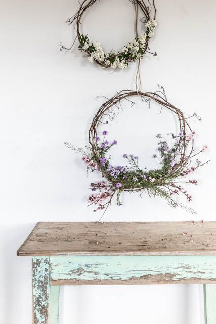 Photo of some thoughts on making wreaths and a competition — the dailys