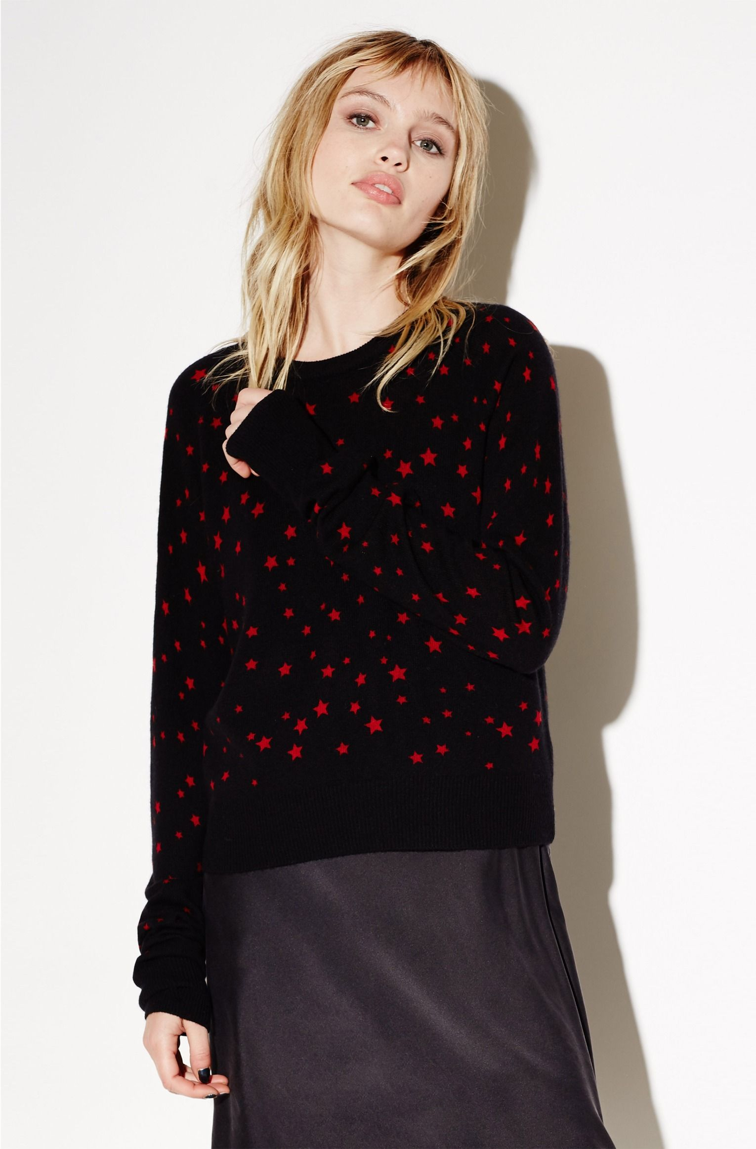 2c09a0da87e RYDER CREW NECK SWEATER | Kate Moss for Equipment | | FRENCH RED ...
