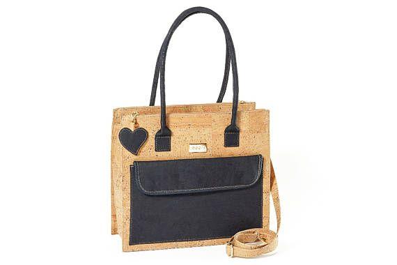 À BagSacs En Bags Work Bag Cork Laptop Main Sac Liège Femme PmvwOyN8n0