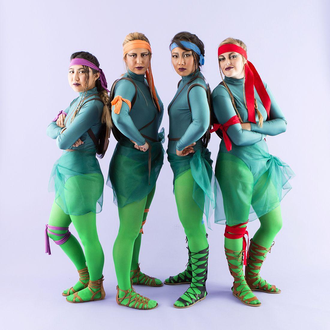 Teenage Mutant Ninja Turtles = Coolest Group Costume Ever