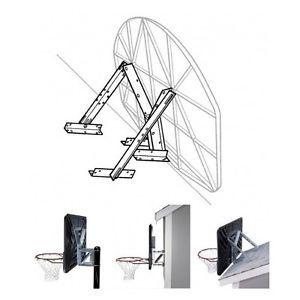 Basketball Mounting Bracket Lifetime Universal Backboard Rim Mount