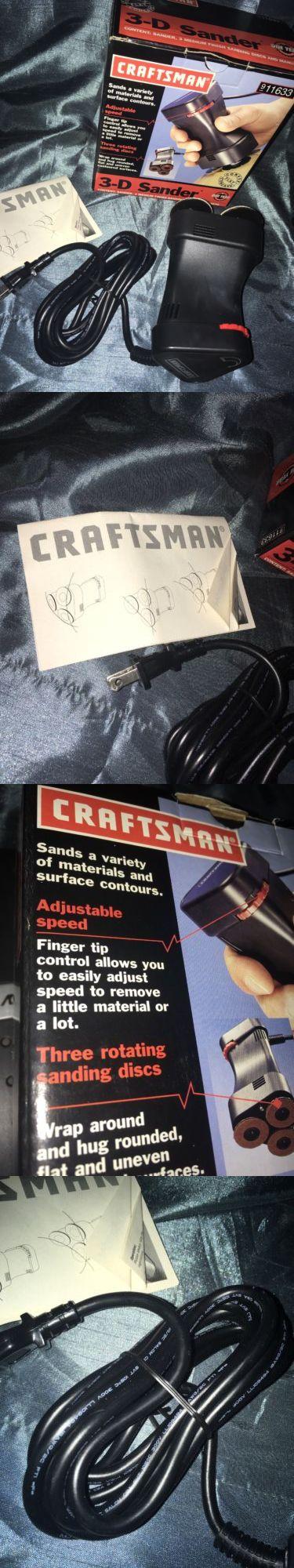 Sanders 42284 Craftsman 3d Sander 911633 Buy It Now Only 105 On Ebay Boxes For Sale Craftsman Sanders