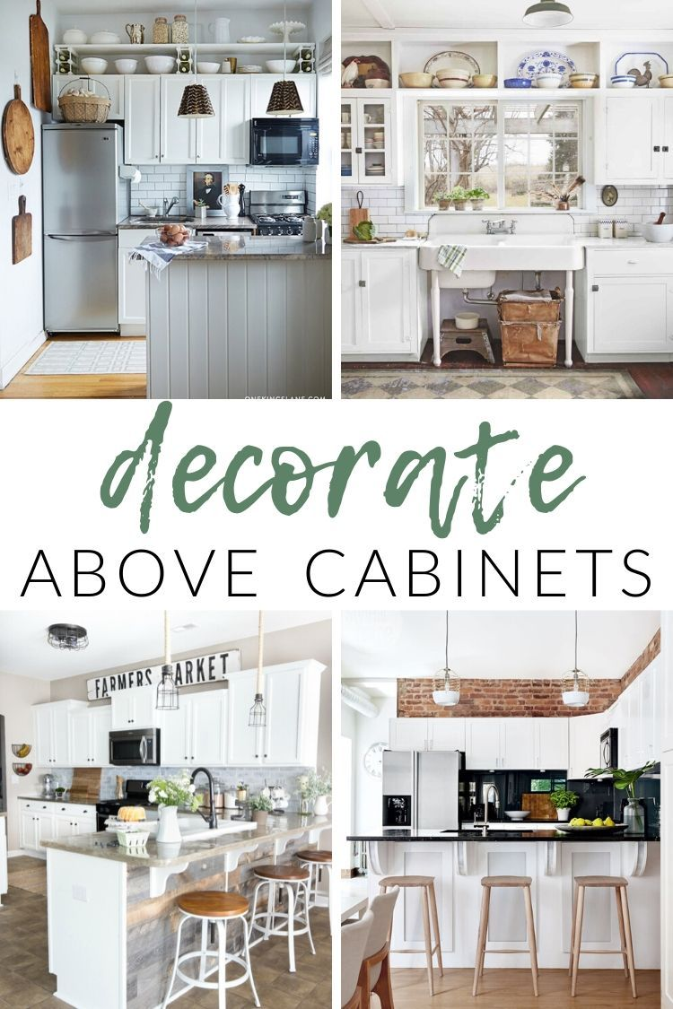 Decorate Above Kitchen Cabinets In 2020 Decorating Above Kitchen Cabinets Above Kitchen Cabinets Kitchen Cabinets Decor