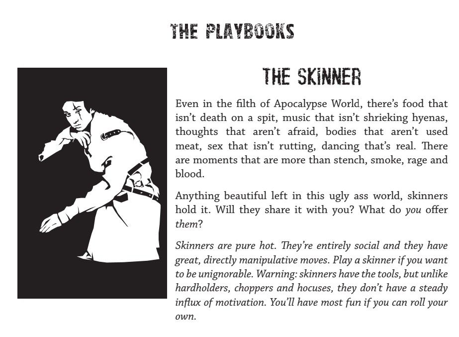 The Skinner (Apocalypse World) | People Passing By (Role Playing