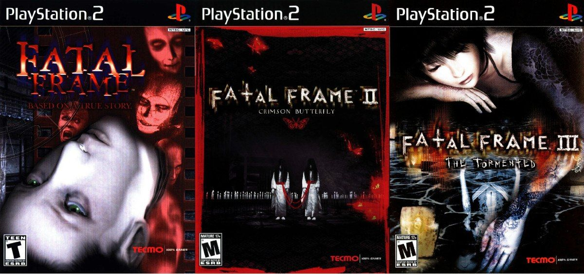 Fatal Frame series | Playstation 1 and 2 games | Pinterest | Fatal ...