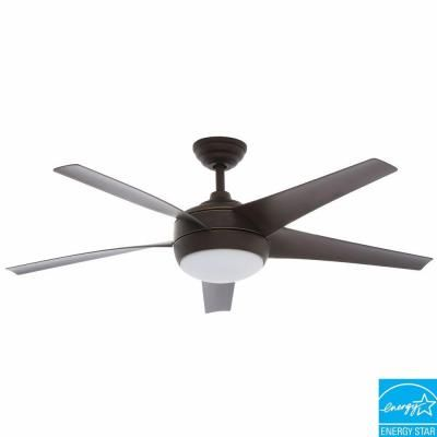 Home decorators collection windward iv 52 in matte white ceiling home decorators collection windward iv 52 in oil rubbed bronze ceiling fan 26661 aloadofball Images