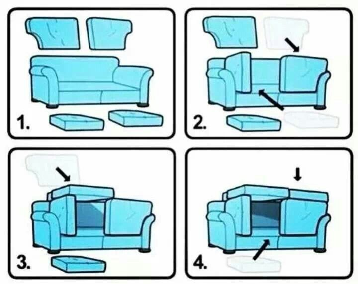 Couch fort sofa fort life hacks babysitting