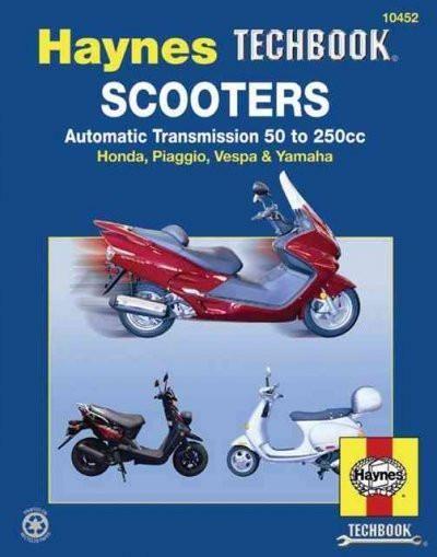 Scooters Service And Repair Manual Haynes Automotive Repair Manual