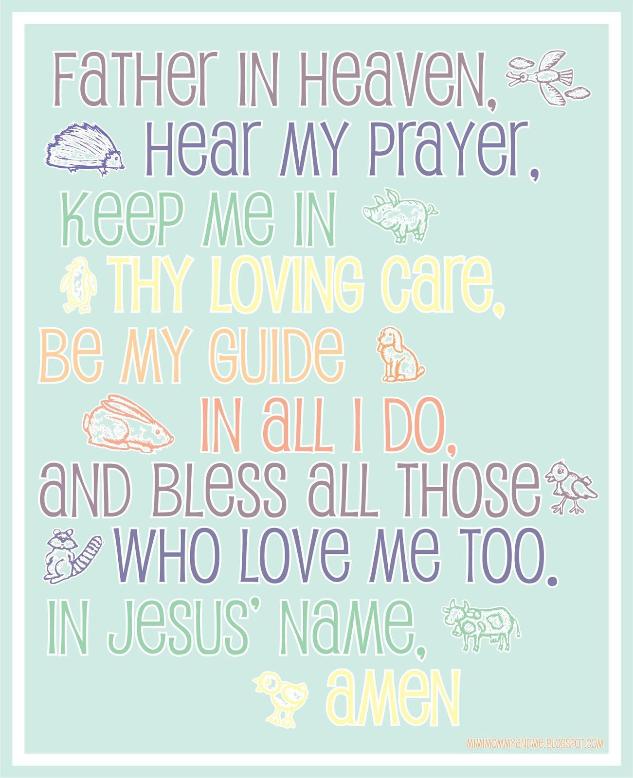 Lords Prayer Color Your Own Poster 50pk Children In