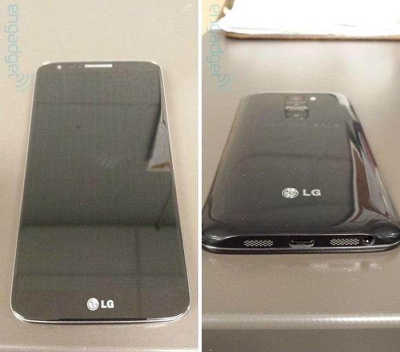 #LG Optimus G2 leaks in clear photos and a video, with 5.2-inch 1080p display 2.3 GHz Snapdragon 800 processor. #LGOptimusG2