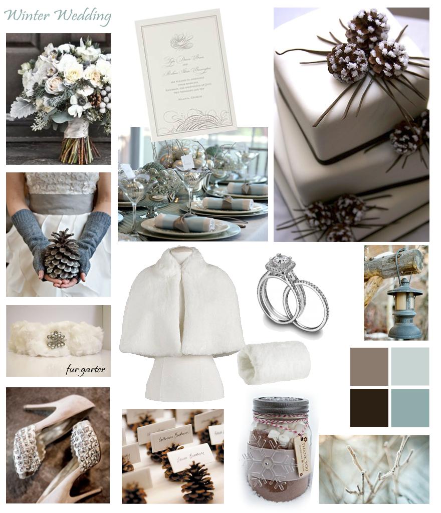 Winter Wedding Colors - Inspiration. See Black Hills Bride blog for ...