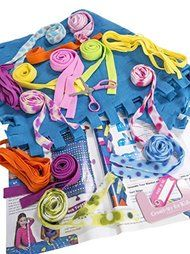 7e141c004 Big kids little kids even moms and grandmas will love this easy weave no-sew  fleece blanket kit. Its colorful cozy and so easy to do! no tedious tying  ...