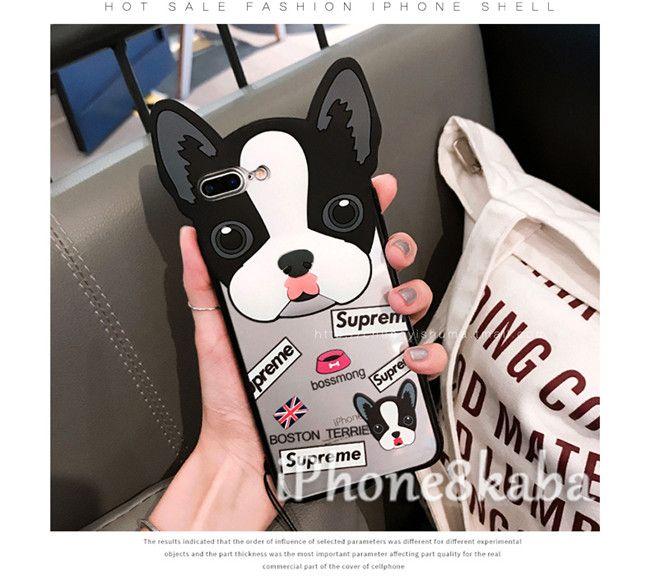 8a0dccce2b シュプリーム 犬柄 iphoneX ケース フレンチブルドッグ ブランド IPHONE8 ケース 可愛い