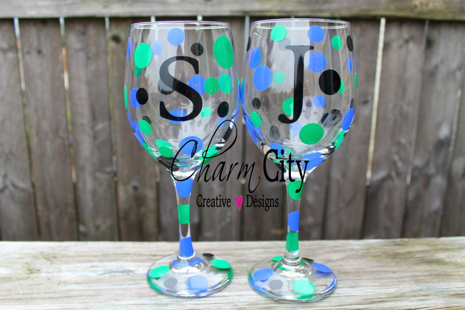 Personalized Wine Glass 20 oz Wedding, Bridal, Party, Birthday, Mother's Day by ahindle78 on Etsy