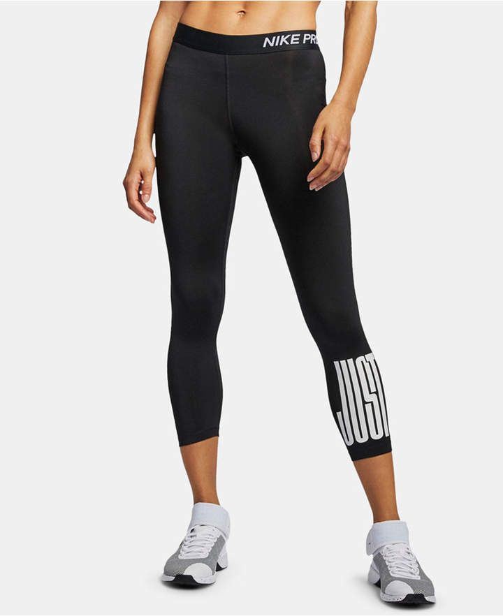 65d356eee0c82 Pro Just Do It Cropped Leggings in 2019   Products   Nike pros, Nike ...