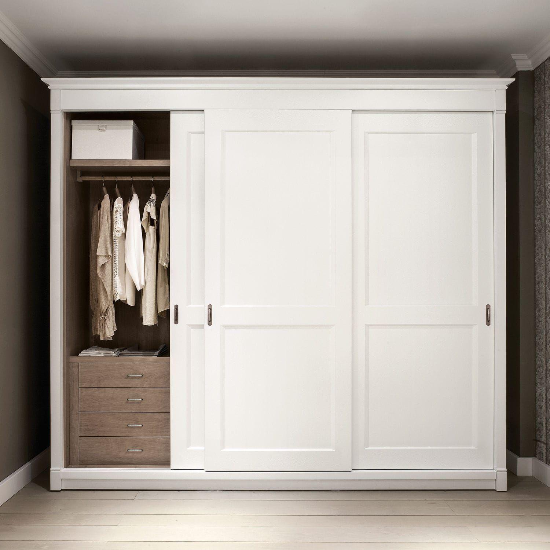 Armoire Classique En Bois Massif A Porte Coulissante 15 Minacciolo Wardrobe Doors Sliding Wardrobe Doors