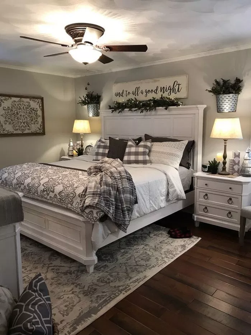 12 Cozy Farmhouse Bedroom Ideas for The Latest Style Designs ...