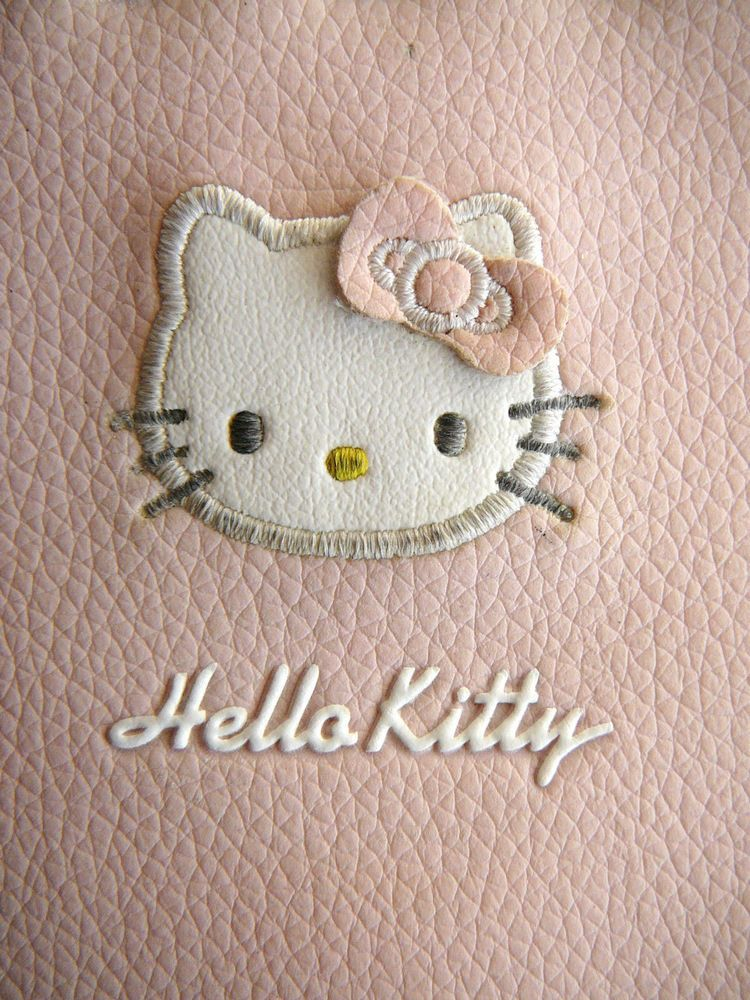 Rare Hello Kitty Wallet Purse ID Credit Card Holder Adult Child Charm 2005 Cat