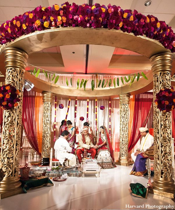 Majestic Indian Wedding Ceremony By Harvard Photography, Anaheim, California