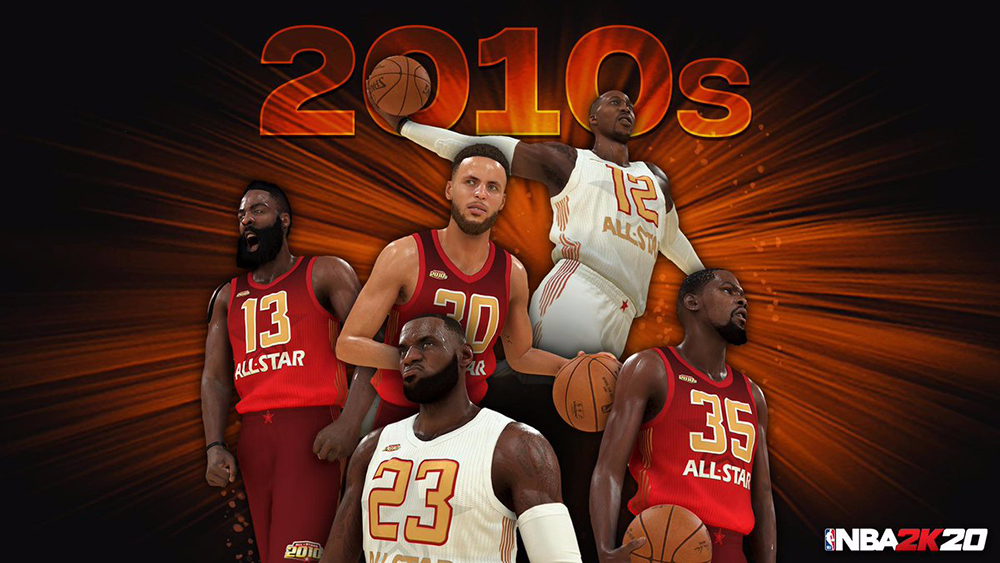 New Nba 2k20 Legendary Teams Revealed With All Decade Squads Ingamemall Com Nba Teams Squad