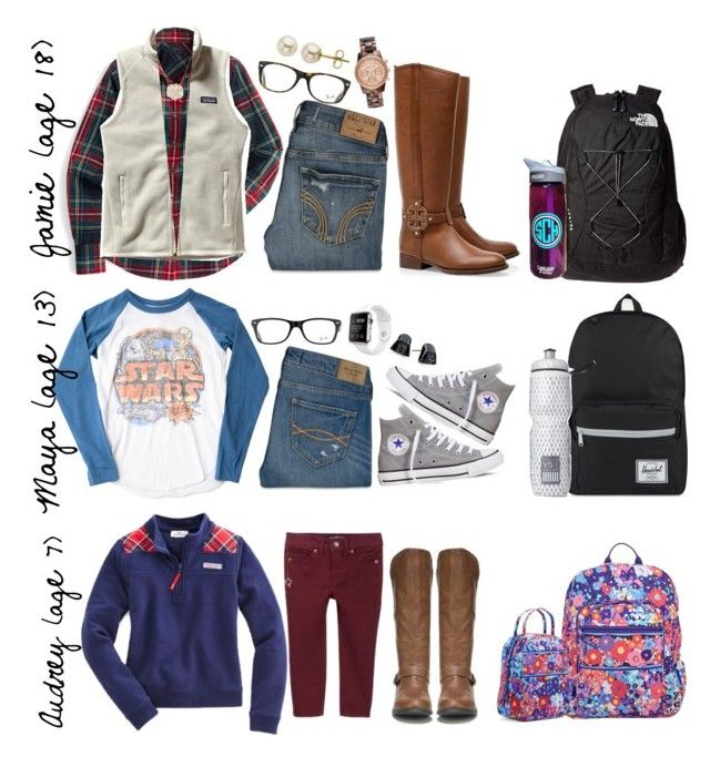 """""""First day back 01/05"""" by prep-family ❤ liked on Polyvore featuring Junk Food Clothing, J.Crew, Patagonia, Vineyard Vines, Hollister Co., Abercrombie & Fitch, Converse, Nordstrom Rack, Tory Burch and The North Face"""