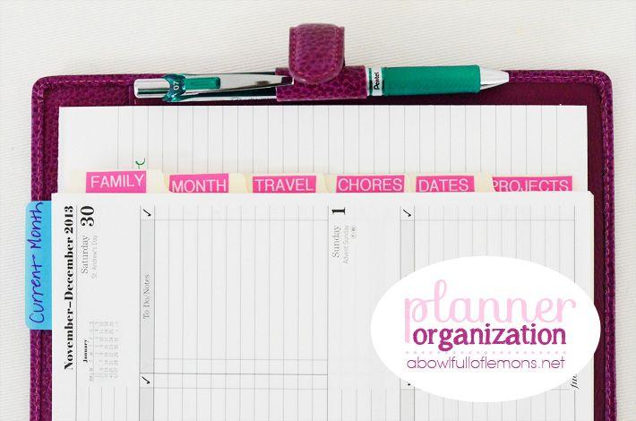 ABFOL organización planificador de 3
