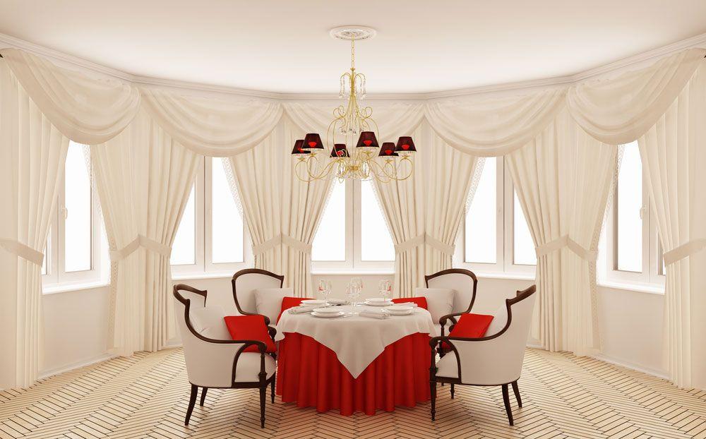 Decoration Style, The Fun Elegant Window Treatments Also ...