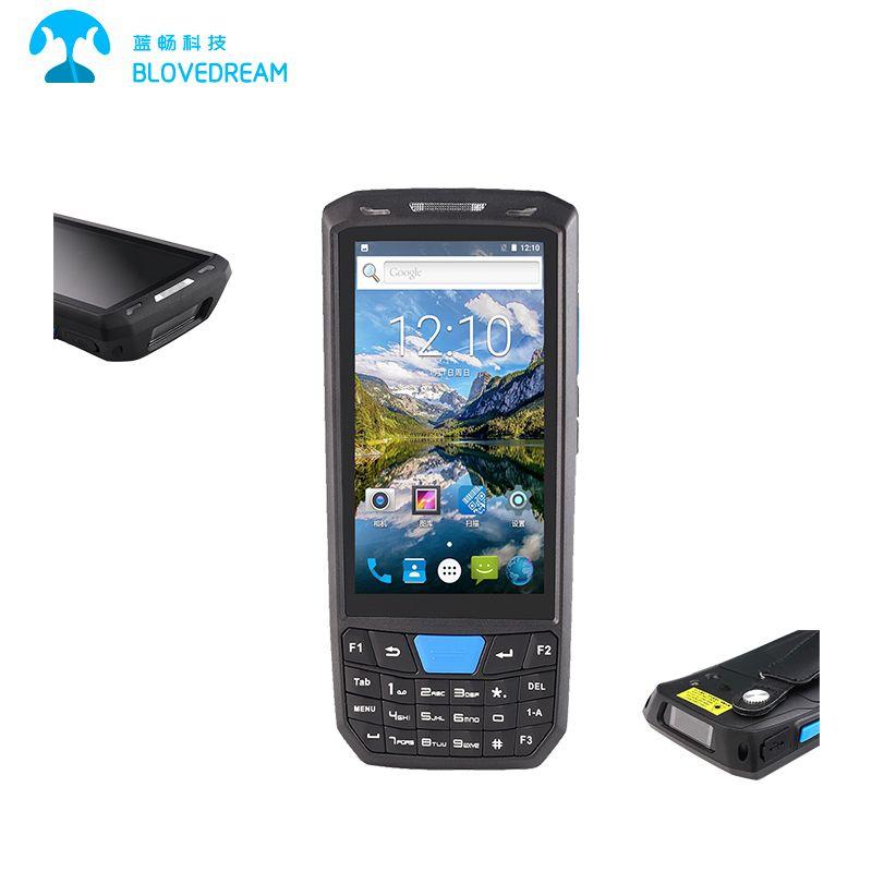 High Quality China Manufacturer Logistics Barcode Scanner Pda Rfid Reader Rugged Tablet Finger Print Scanner Barcode Scanner