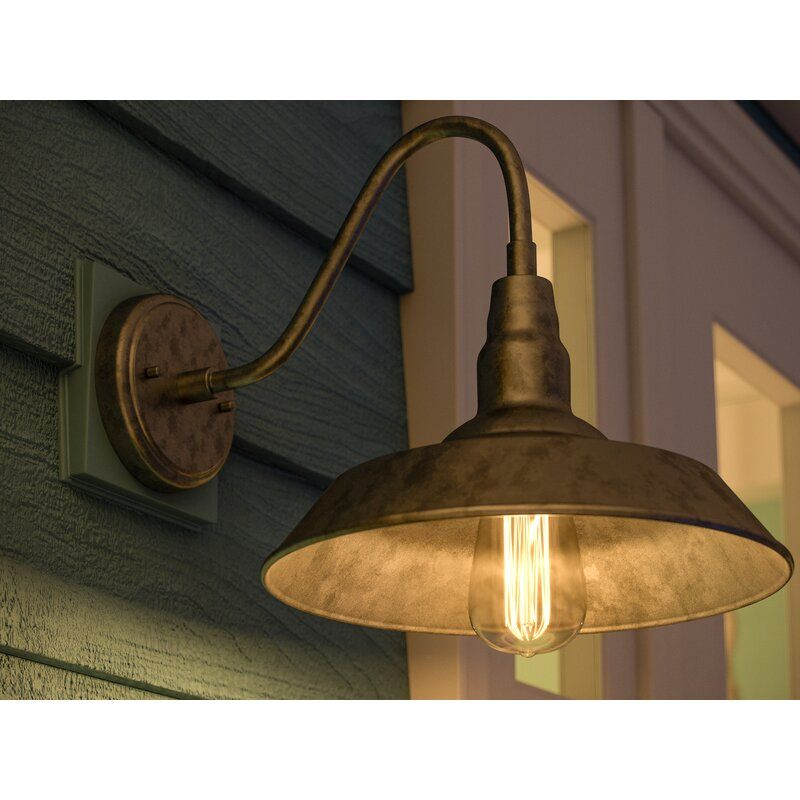 Aurelia Outdoor Barn Light In 2021 Barn Lighting Galvanized Light Fixture Barn Light Fixtures