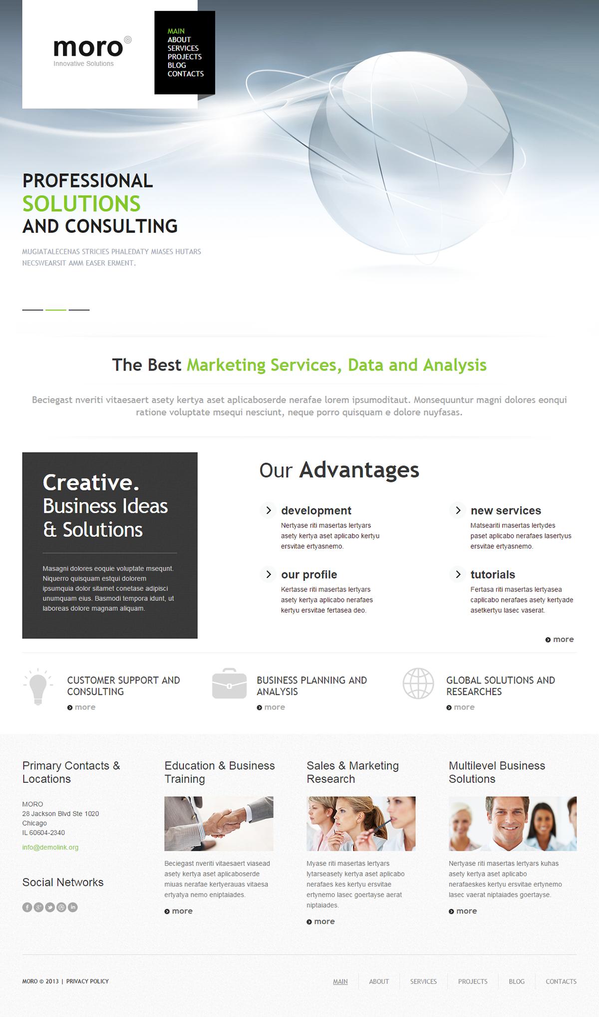 Innovative Solutions WordPress Theme
