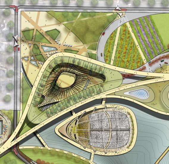 Atlanta S Premiere Landscape Architect: Parque De Concessão E Zoo Atlanta Estudo Masterplan