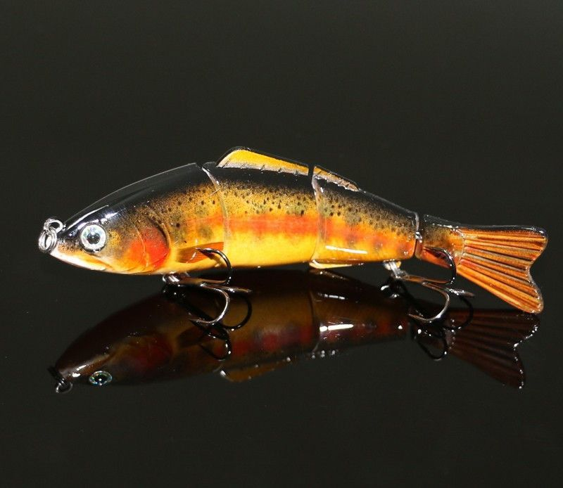 Live Action Lifelike Trout and Salmon Fishing Lure