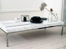 x4duros.com: Ikea-Hack: Mesa klobbo de mármol DIY