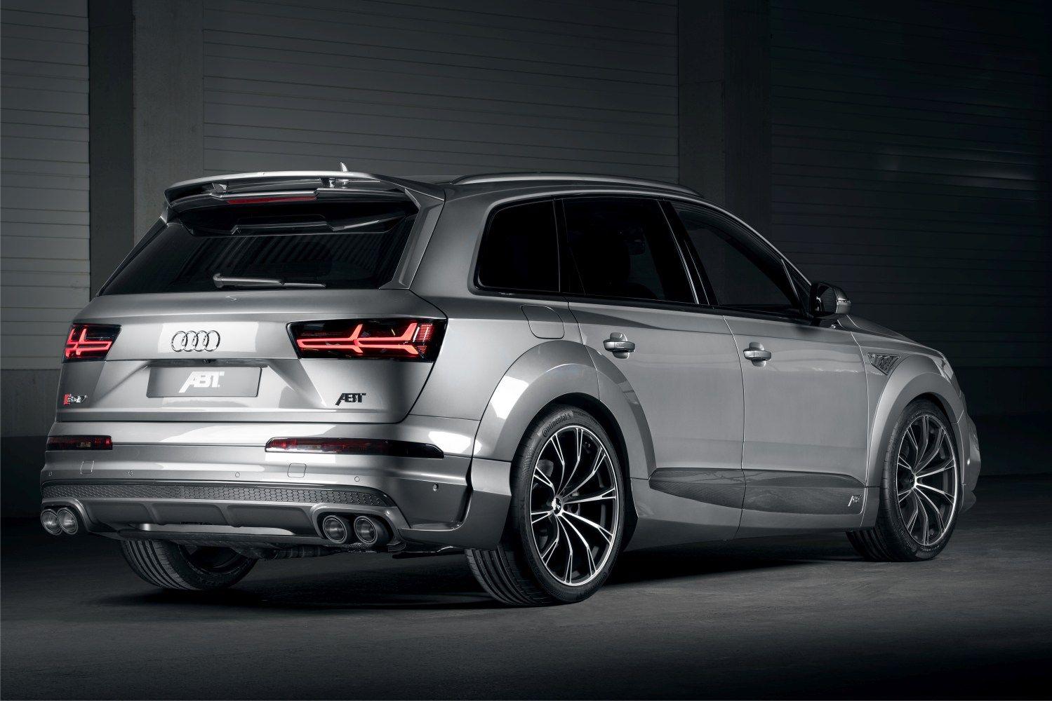 Abt Audi Sq7 Tdi Super Utility Vehicle Audi Luxury Suv Cars Audi Cars