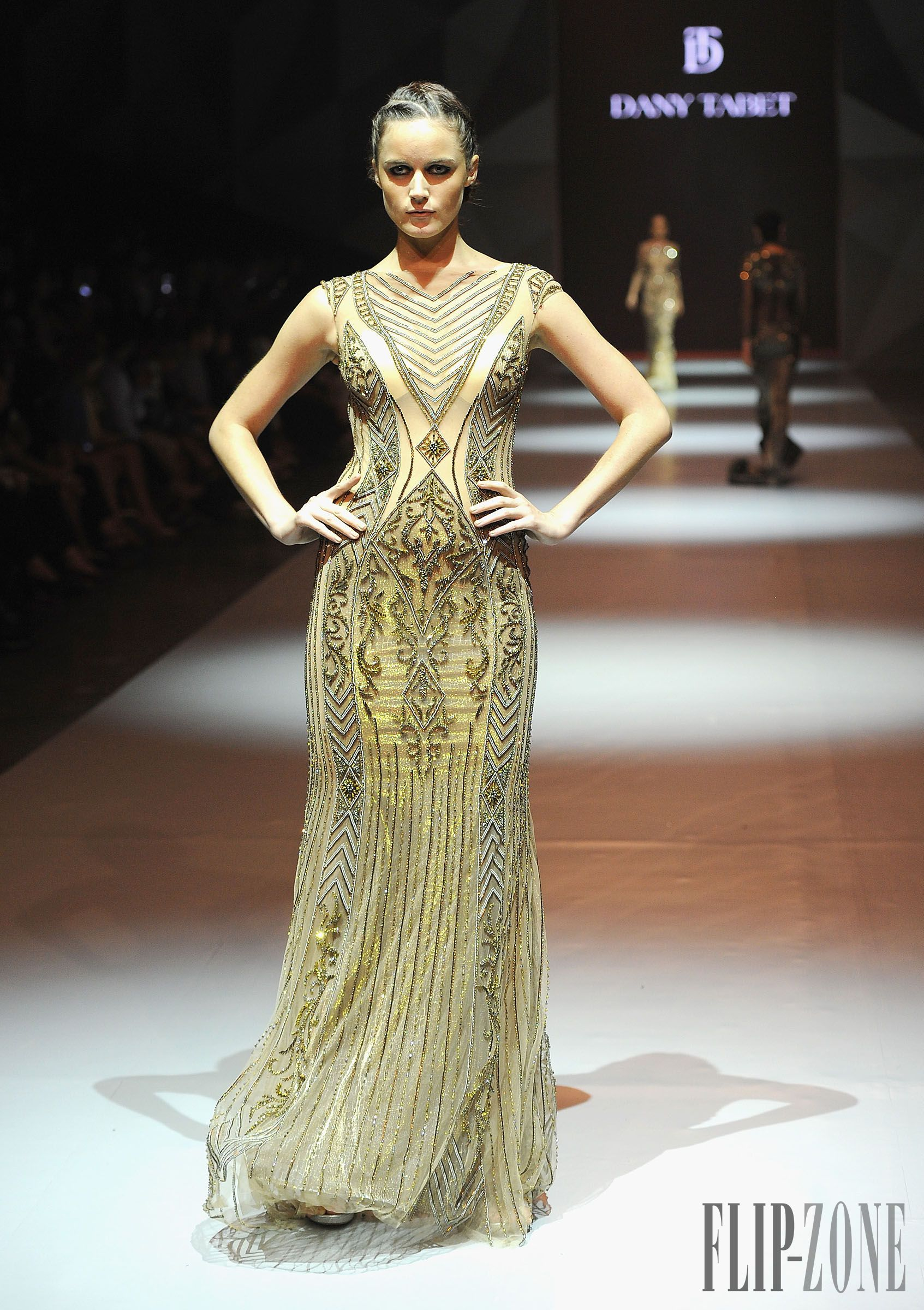 Dany Tabet Spring-summer 2015 - Ready-to-Wear - http://www.flip-zone.net/fashion/ready-to-wear/independant-designers/dany-tabet-5134