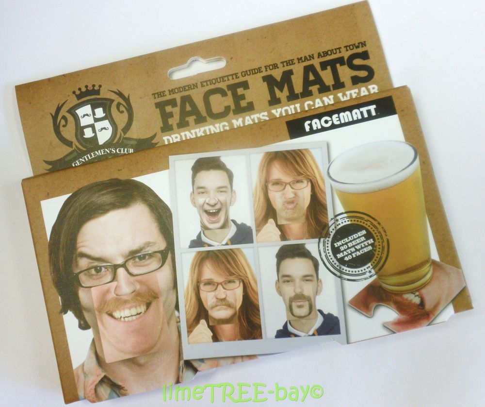 Face Mats Beer Mat Drinking Game With Funny Faces Matts Stag Hen Party Do Joke Drinking Games Stag And Hen Hen Party