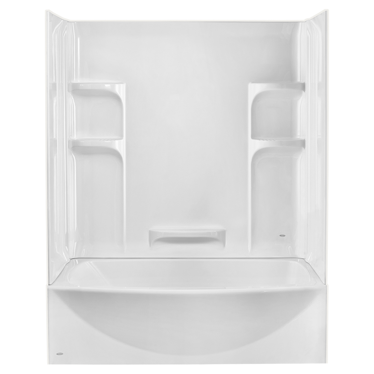 Tub And Shower Walls Ovation Curved 3 Piece Bathtub Wall