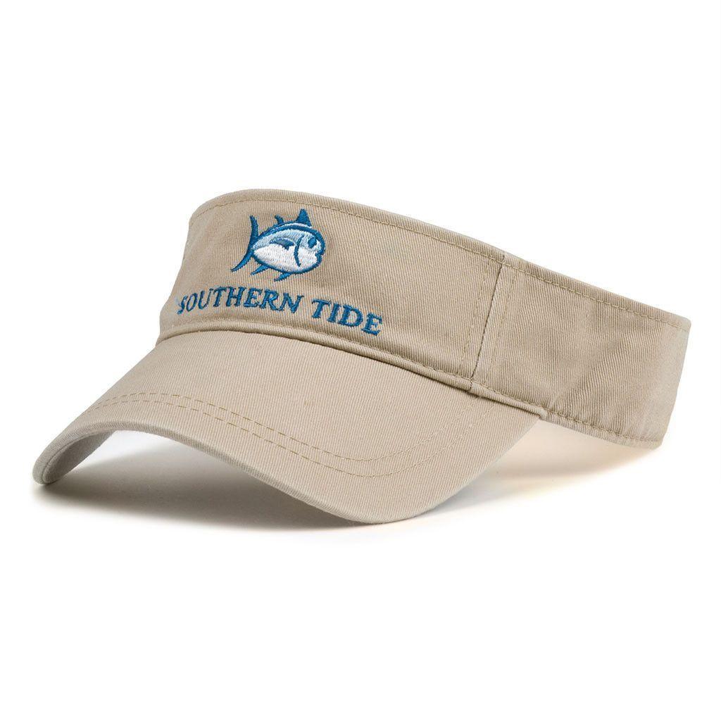 2ab880ad Classic Skipjack Visor in Khaki by Southern Tide Beach Essentials, Mens  Trucker Hat, Women's