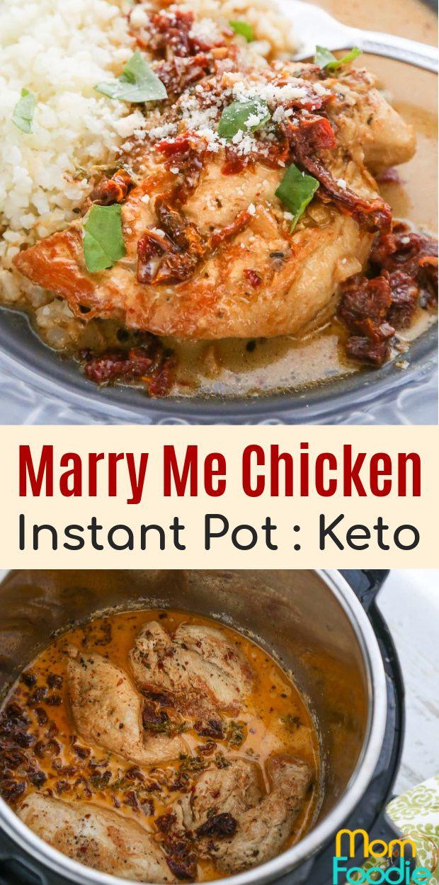 Marry Me Chicken #instantpotchickenrecipes