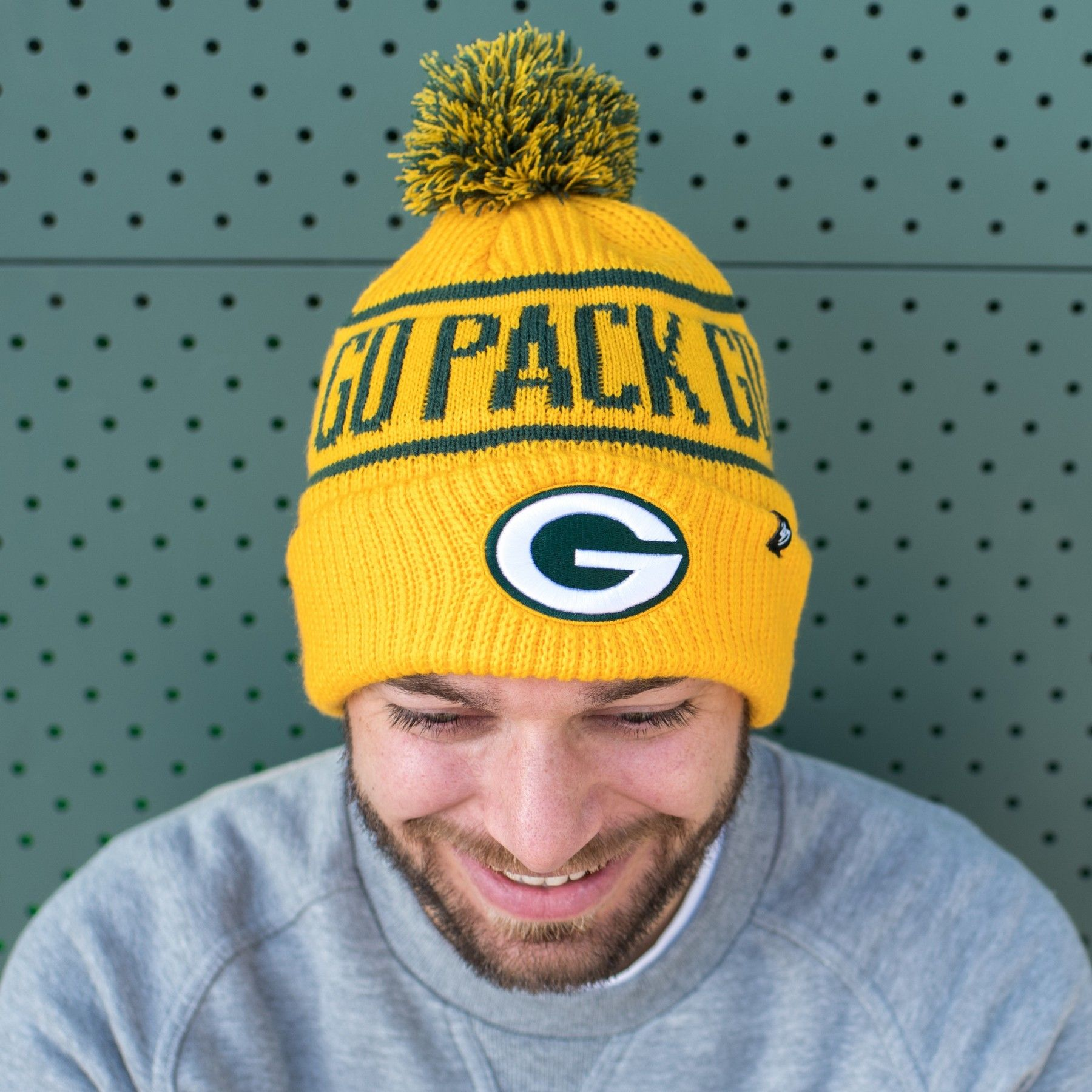 Packers 2018 Sideline Graphite Sport Knit Hat Green Bay Packers Green Bay Packers Hat Knitted Hats