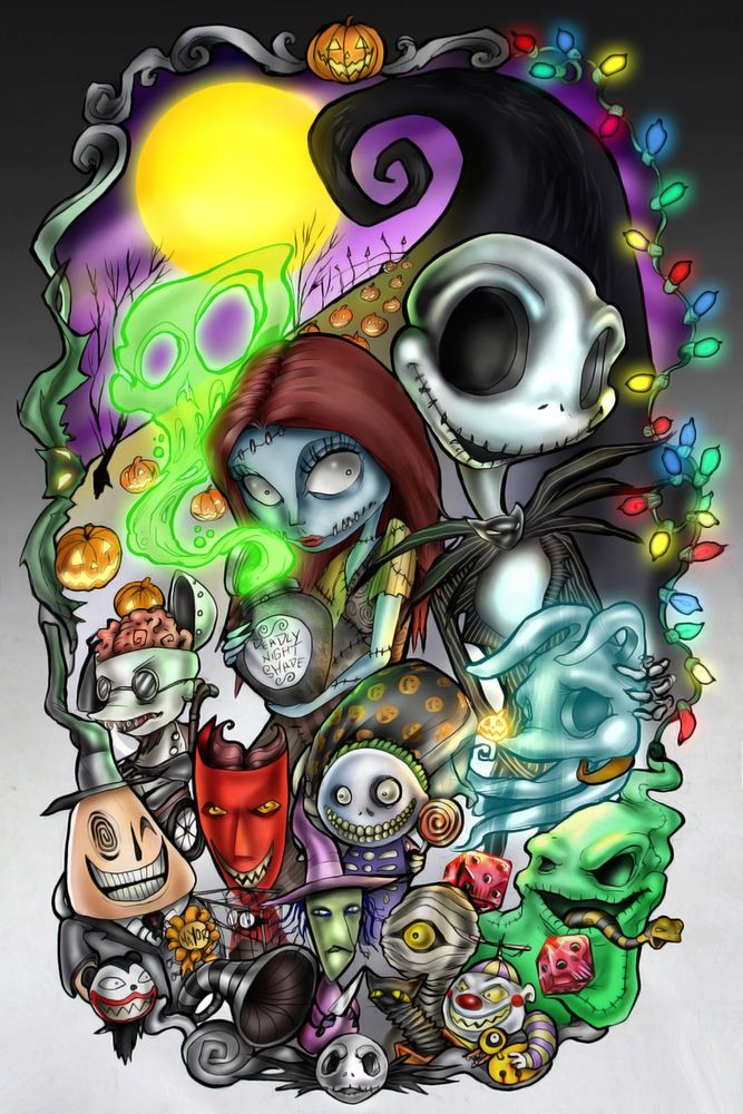 Limited Edition Nightmare Before Christmas 20x30in Nightmare Before Christmas Drawings Nightmare Before Christmas Tattoo Nightmare Before Christmas Wallpaper
