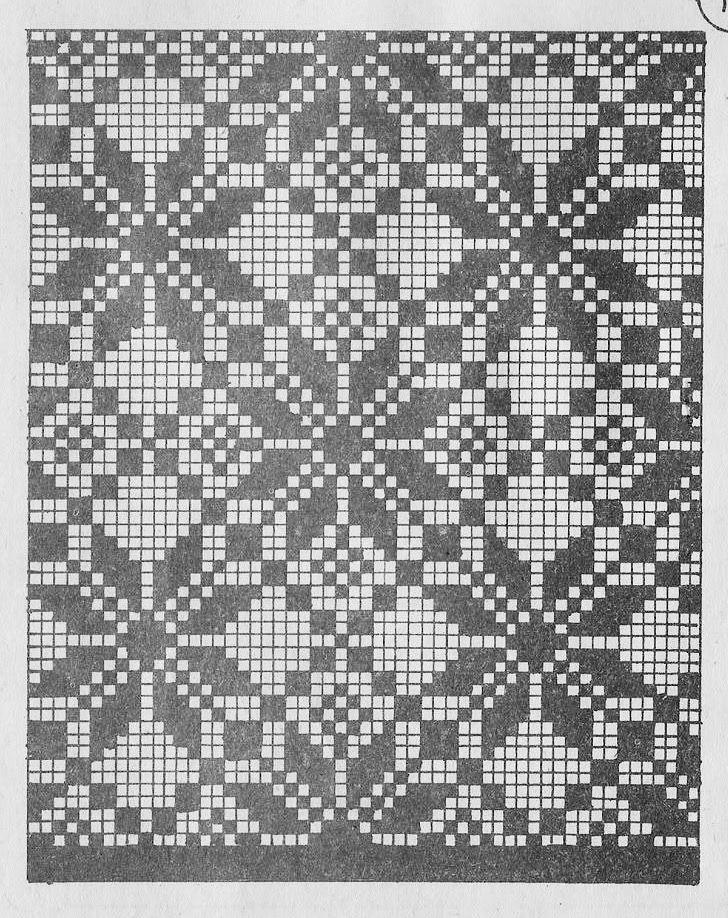 Wayuu Mochila pattern Cross Stitch or Filet Crochet | PUNTO DE CRUZ ...