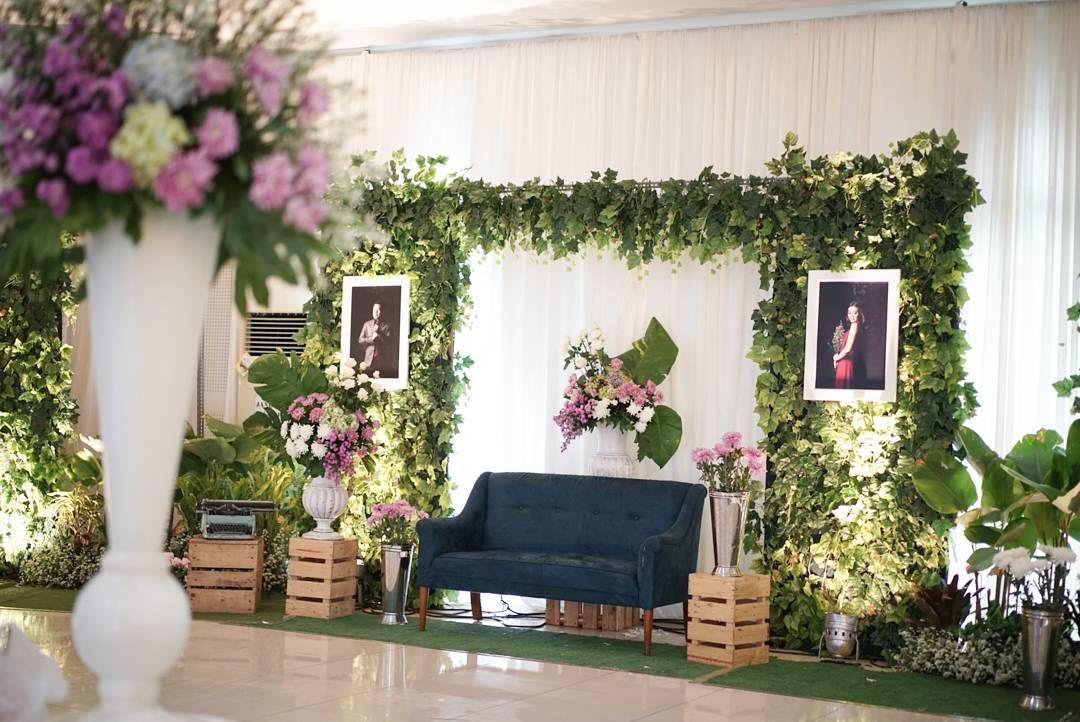 40 Dekorasi Pernikahan Modern Elegan Minimalis Terbaru 2018